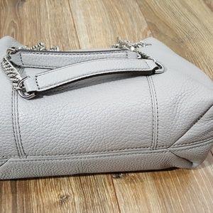 84dc085a21f3 MICHAEL Michael Kors Bags - Michael Kors Jet Set Silver Chain Pearl Grey   228